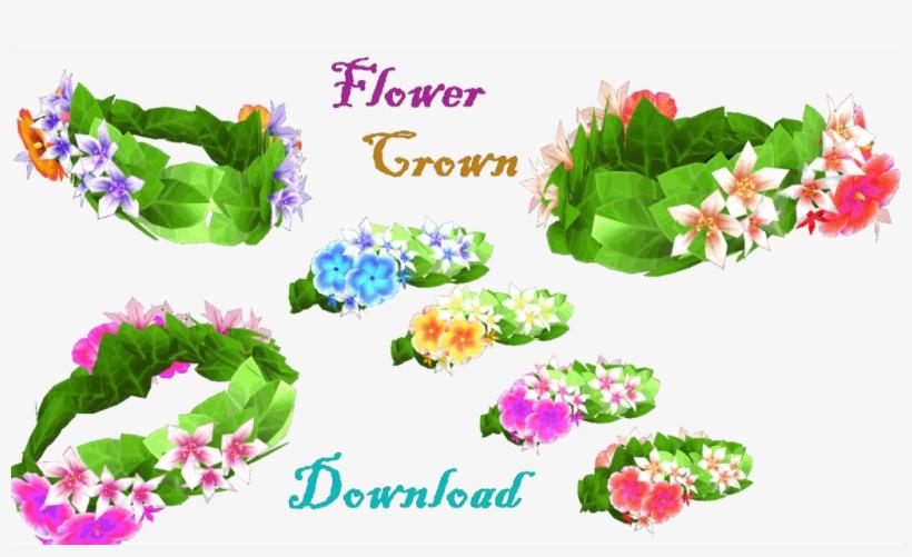 Mmd] Flower Crown By Lorenemmd On Deviantart Clip Art - Mmd