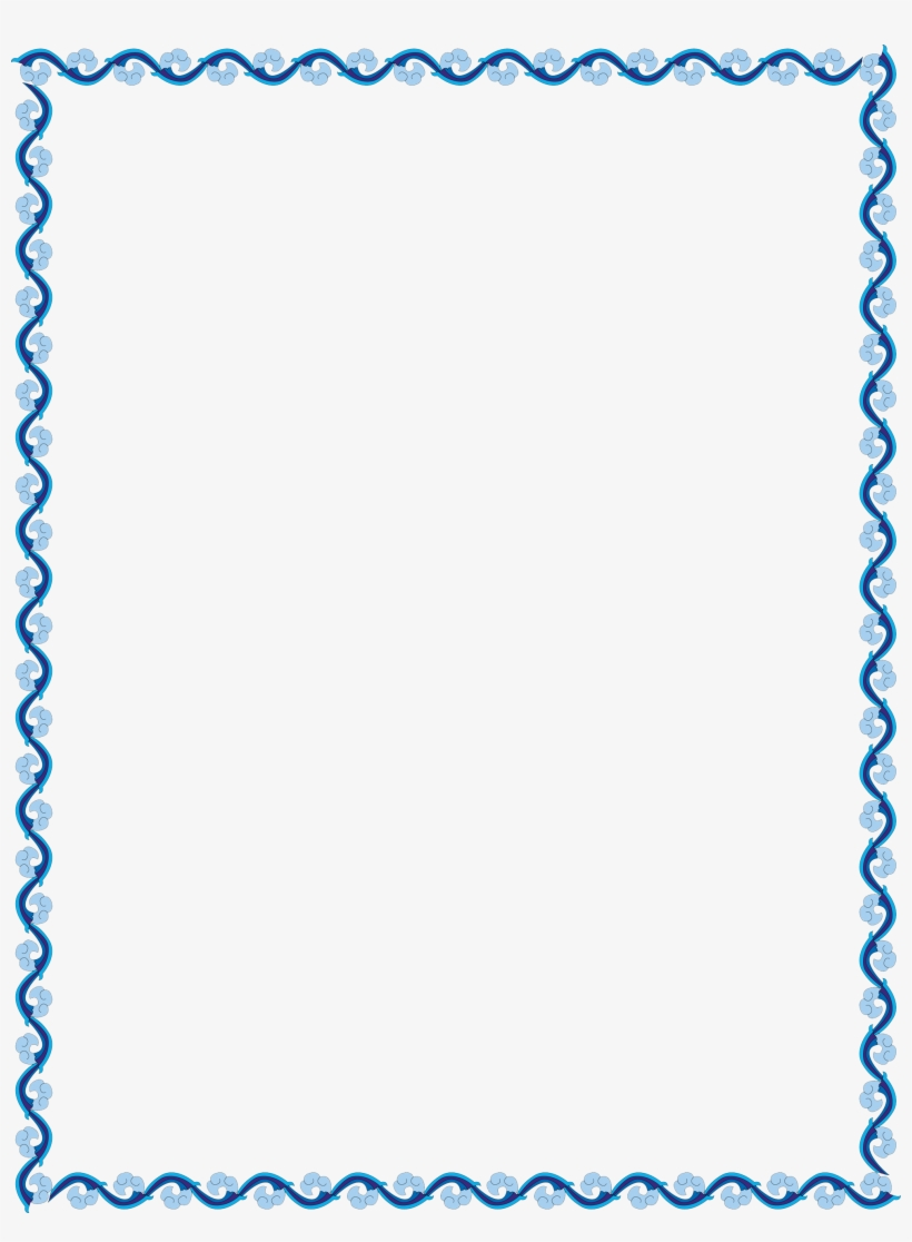 border blue outline border design simple 1975x2593 png download pngkit border blue outline border design