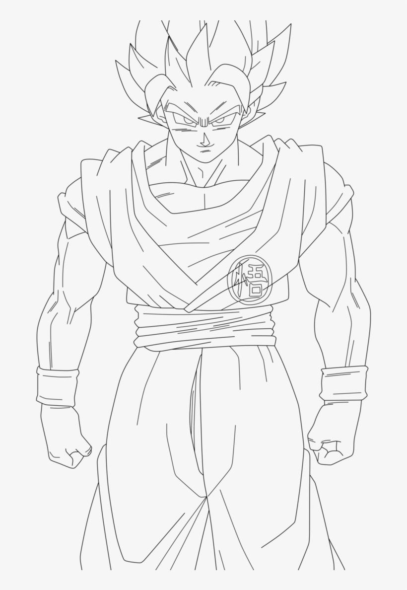 Goku By Jafeththedraxx Goku Super Saiyan 2 Drawings