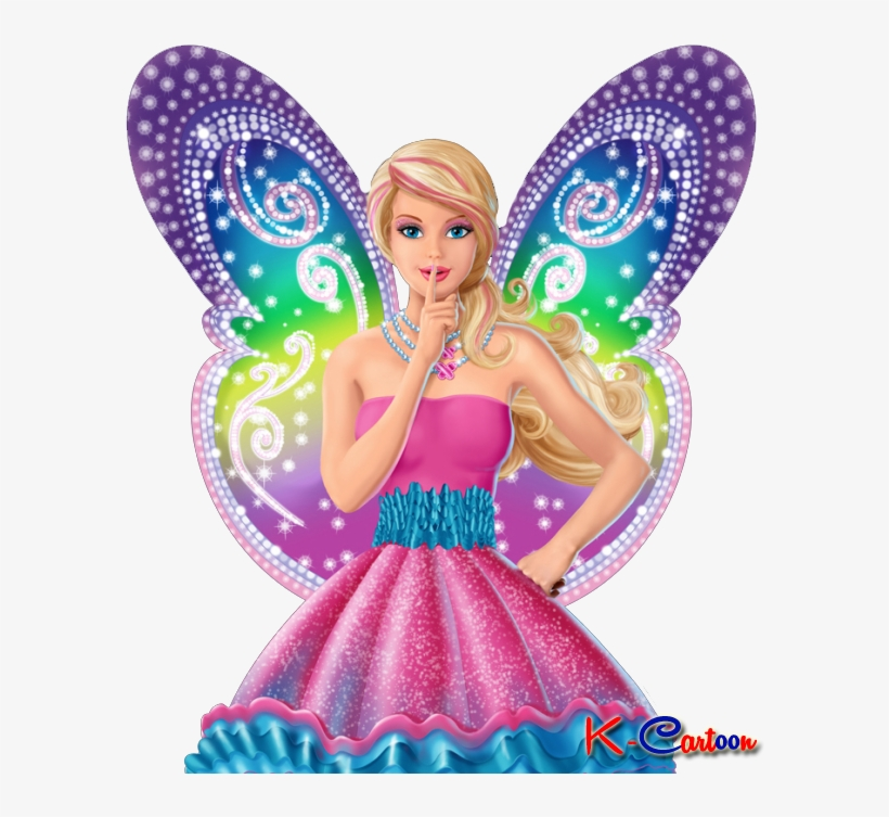 Gambar Barbie Bersayap Vector Barbie A Fairy Secret Png