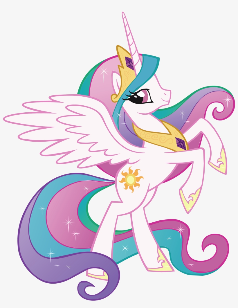 Princess Celestia My Little Pony Decal Removable Wall My Little