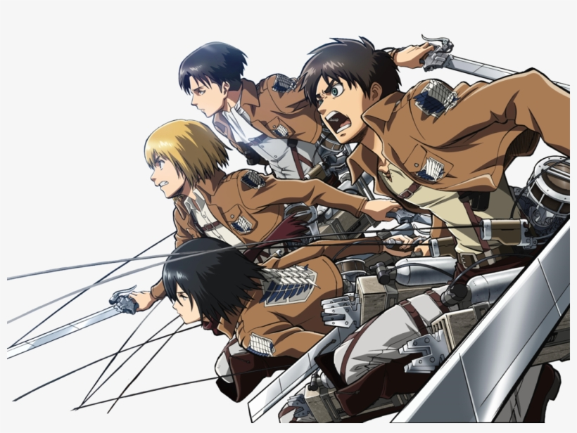 Attack On Titan Png Photo Attack On Titan Png 1024x720 Png Download Pngkit