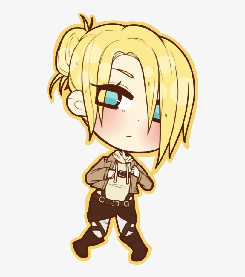 Fanart Drawing Attack On Titan Attack On Titan Chibi Annie 600x875 Png Download Pngkit