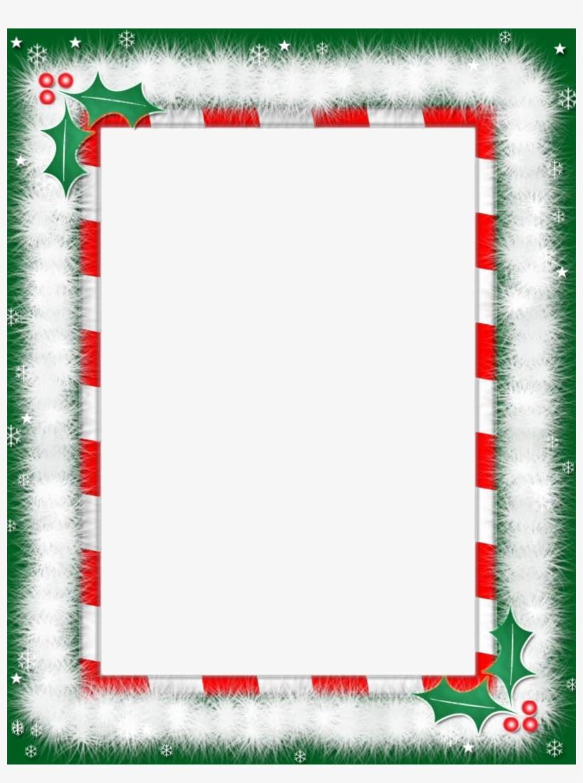 Christmas Background Border Clipart Santa Claus Christmas - Word Within Christmas Border Word Template