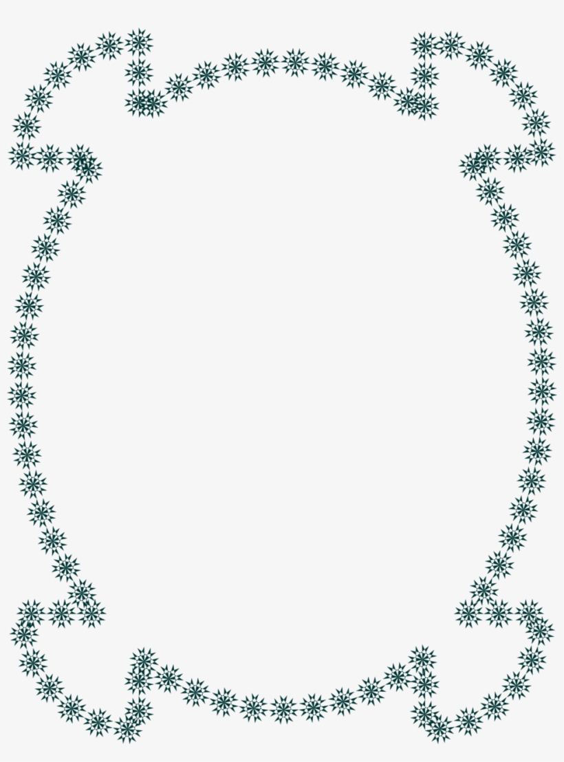 Stars Clip Art Borders Frames Swarovski Angelic Green 958x1248 Png Download Pngkit