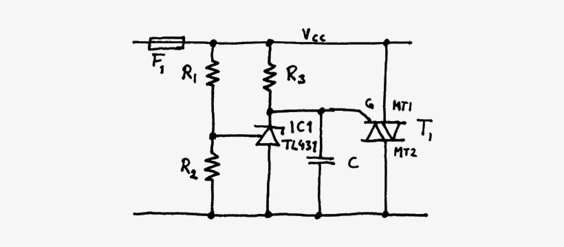 Crowbar Circuit Using Tl431 And Triac - Tl431 Crowbar Circuit