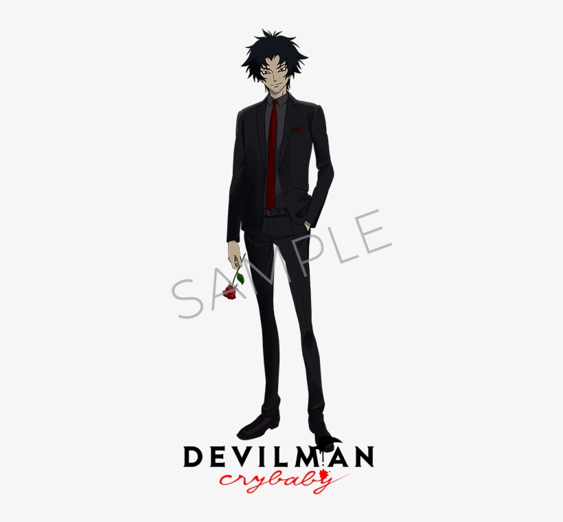Devilman Crybaby Devilman Crybaby Akira Fudo Png 500x700 Png Download Pngkit