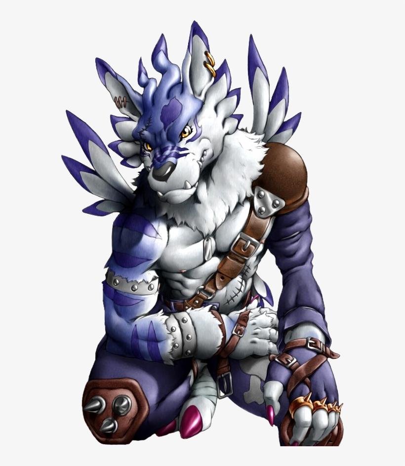 req] Forum Sig & Avatar $$$$ - Digimon Weregarurumon - 600x870 PNG