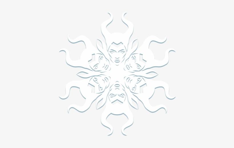 Maleficent Snowflake - Paper Snowflake Easy Snowflakes Pattern
