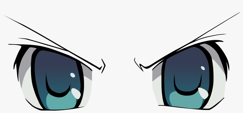 Angry Cartoon Html Download Anime Eye Png 600x255 Png Download Pngkit