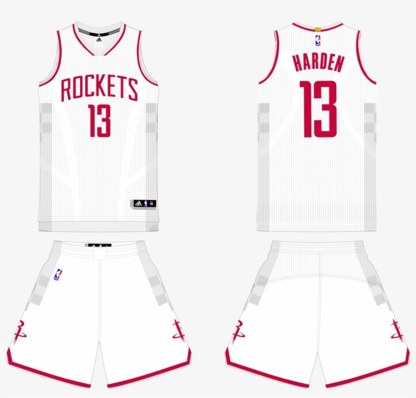 ab5f99bade5a Thumb - Houston Rockets Jersey Concept - 1024x904 PNG Download - PNGkit