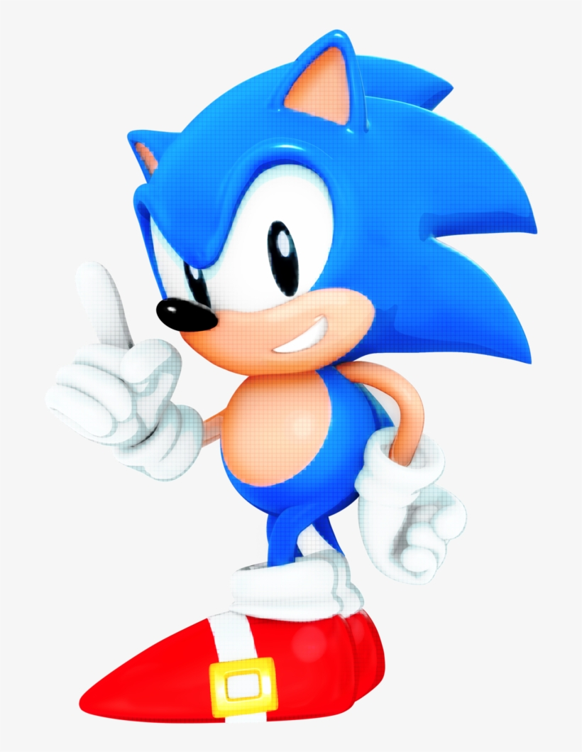 Classic Pixel Sonic The Hedgehog Png 1024x1024 Png Download Pngkit