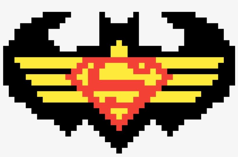 Batman V Superman Superhero Logo Pixel Art 1200x1200 Png