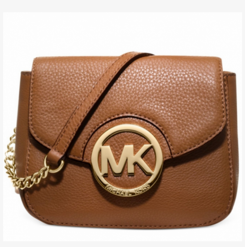 ff0ae9d346ec Michael Kors Bedford Small Leather Logo Crossbody Brown - Michael Michael  Kors Fulton Small Crossbody In Luggage