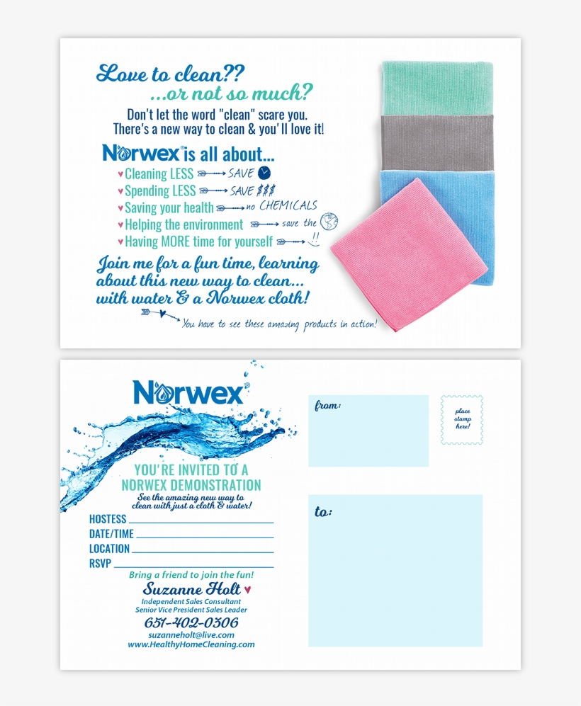 Norwex Invitation 900x922 Png Download Pngkit