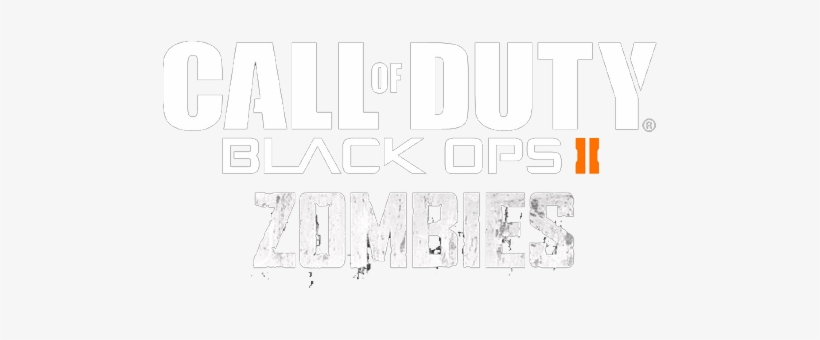 Call Of Duty Another Black Ops 2 Zombies Logo 500x300 Png