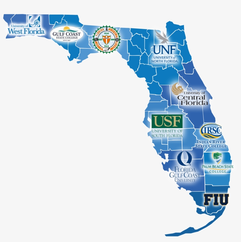 Map Of Colleges In Florida Florida Sbdc Network State Director On Small Business   Map Of