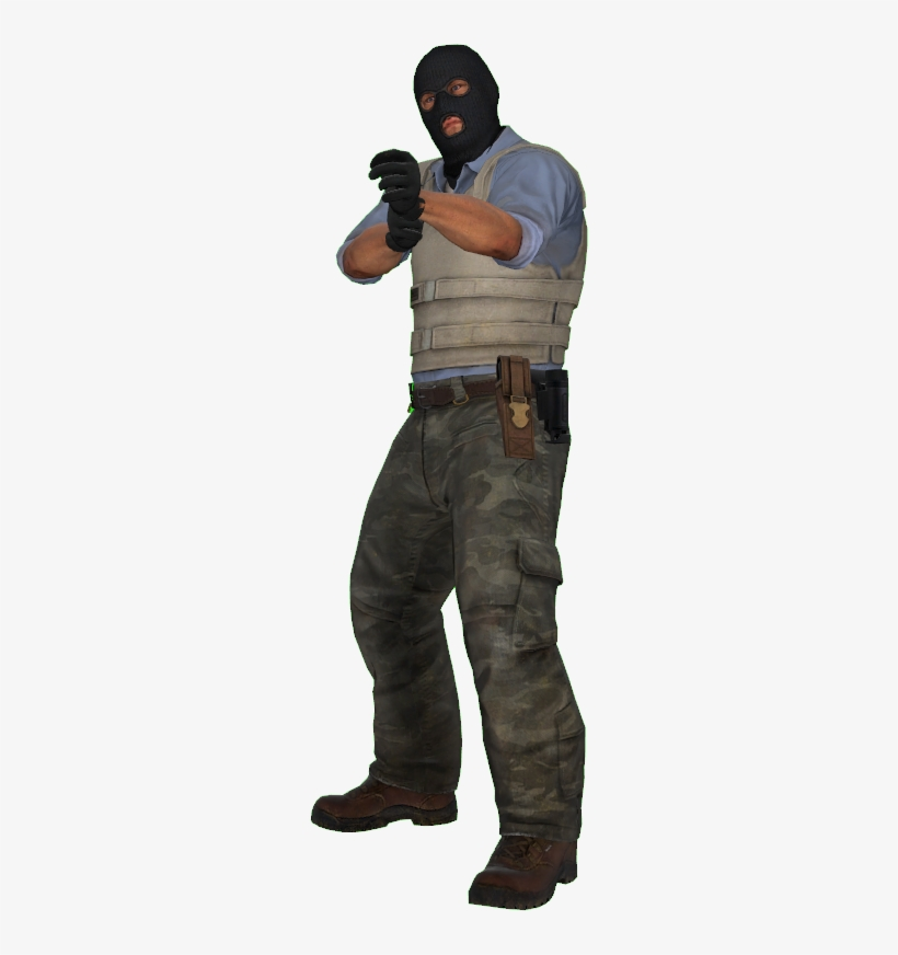 File History - Csgo Terrorist Character Png - 254x792 PNG Download