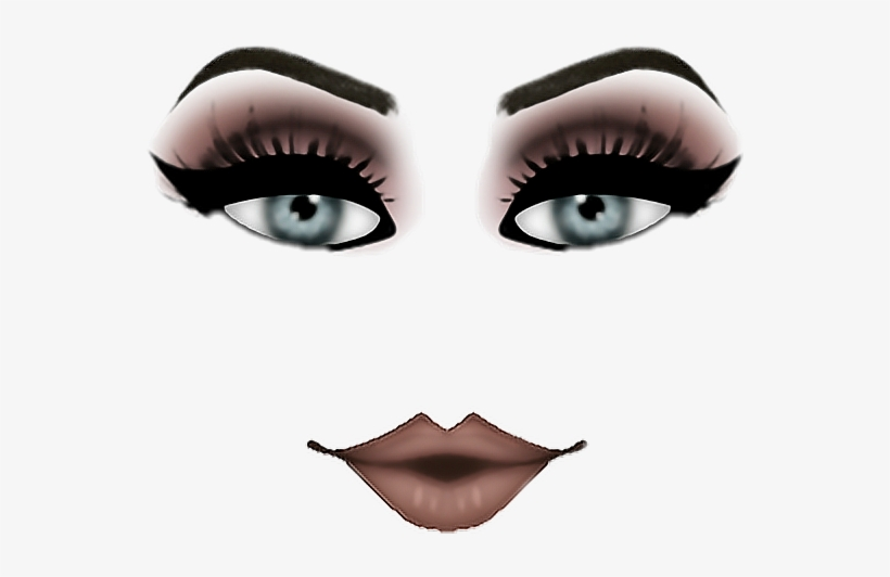 Roblox Makeup Hope Ya Like It 3freetoedit Roblox Makeup Face Codes 550x452 Png Download Pngkit