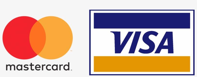 Credit Card Logos - Mastercard And Visa Payment - 2833x880 PNG Download - PNGkit