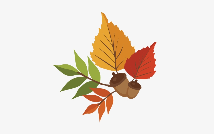 Fall Leaf Silhouette At Getdrawings Falling Leaf Png Cartoon 432x432 Png Download Pngkit