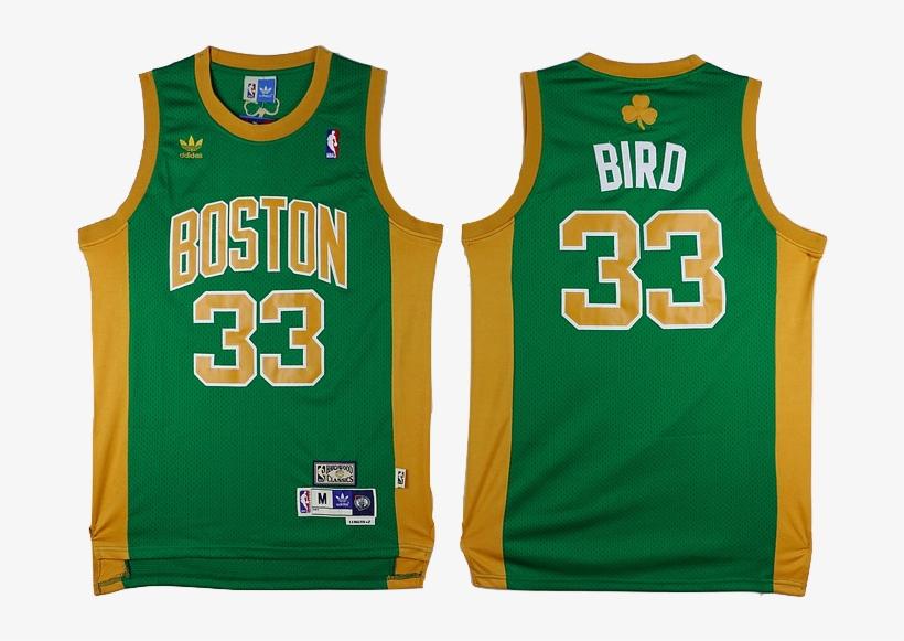 3061841df18 Boston Celtics Jersey - Youth Boston Celtics  33 Larry Bird Jersey Green  Throwback