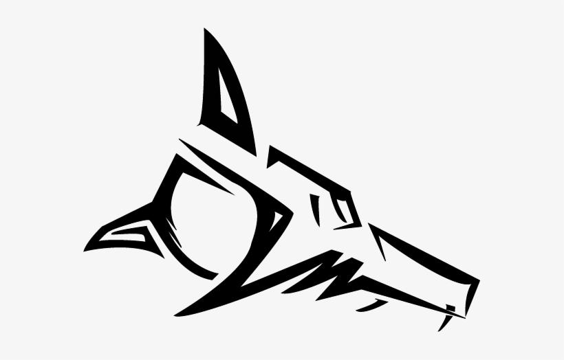 fe2f741f Tribal Wolf Head By Sevenringsinhand777 On Deviantart - Tribal Wolf Drawing  Head