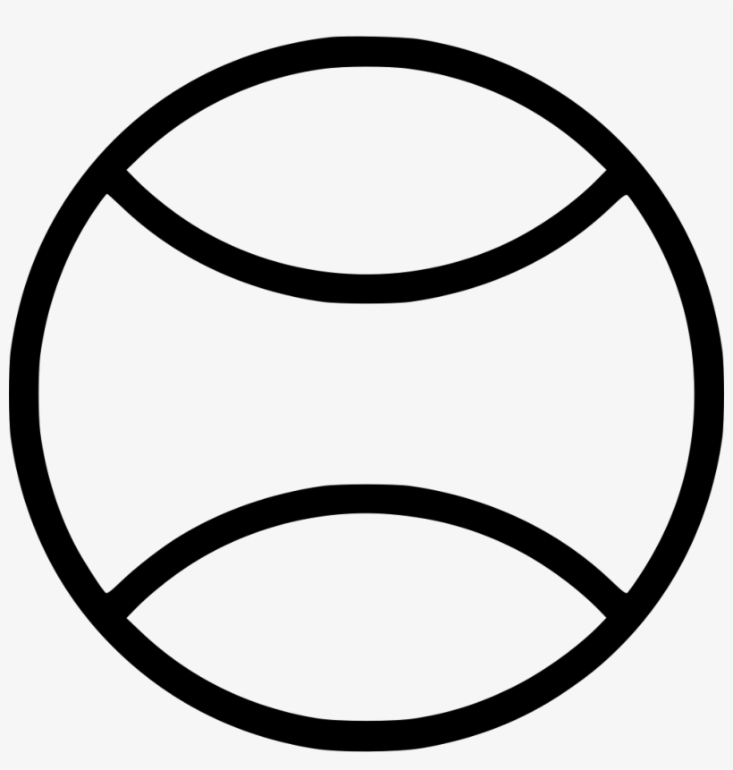 Tennis Ball Tennis Ball Outline Png 980x982 Png Download Pngkit