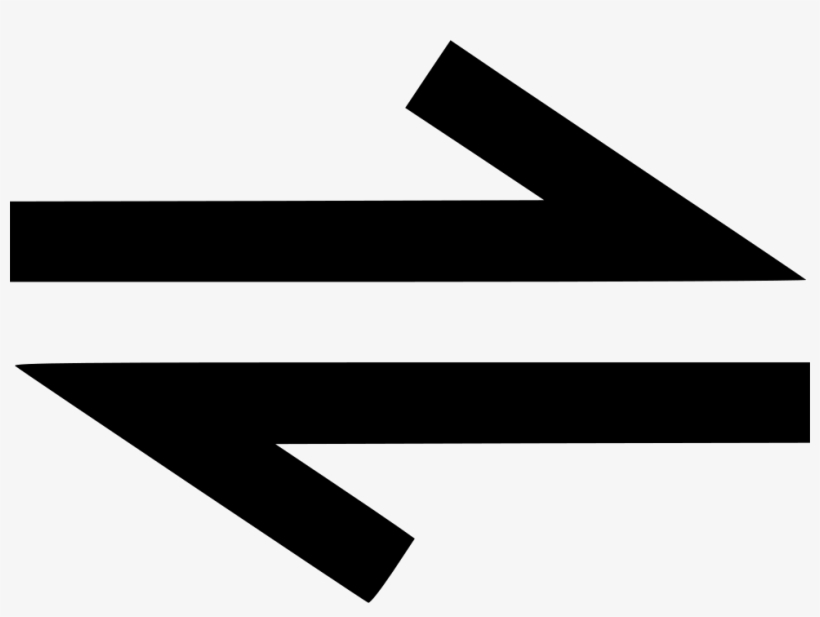 Direction Bidirectional Way Twoway Path Arrow Comments Two Way Arrow Icon 980x690 Png Download Pngkit