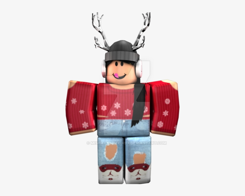 Roblox Character Roblox Character Girl Transparent 1024x576