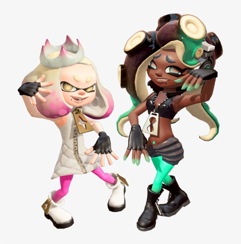 Splatoon 2 Off The Hook Pearl From Splatoon 2 708x748
