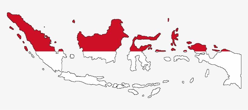 Peta Indonesia Merah Putih 784x297 Png Download Pngkit