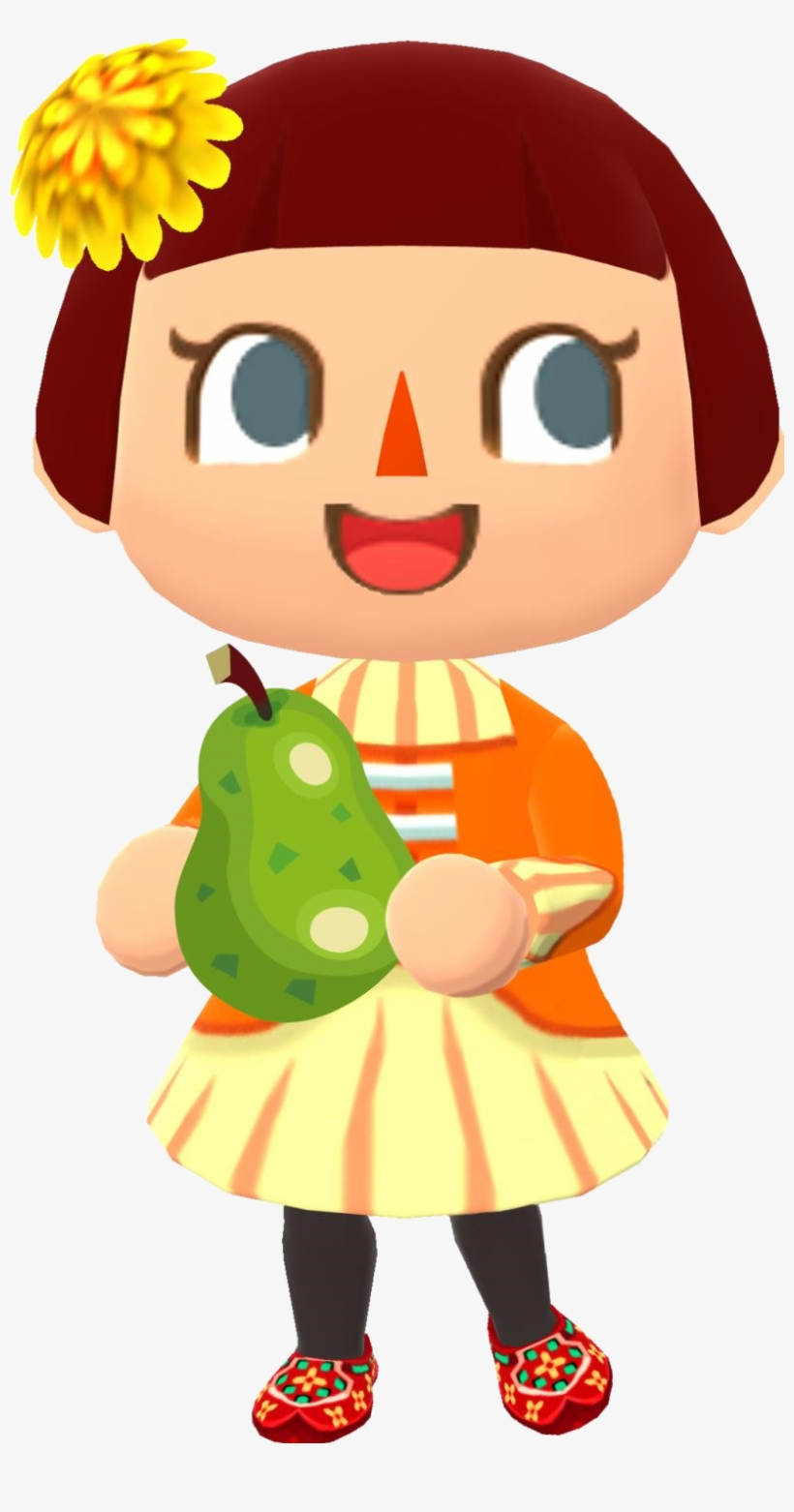 File Pcgirl3 Animal Crossing New Leaf 817x1482 Png Download