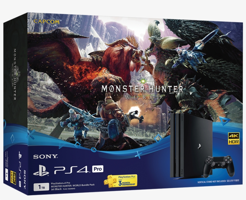 Product Name, Playstation®4 Pro Monster Hunter - Ps4 Pro Monster