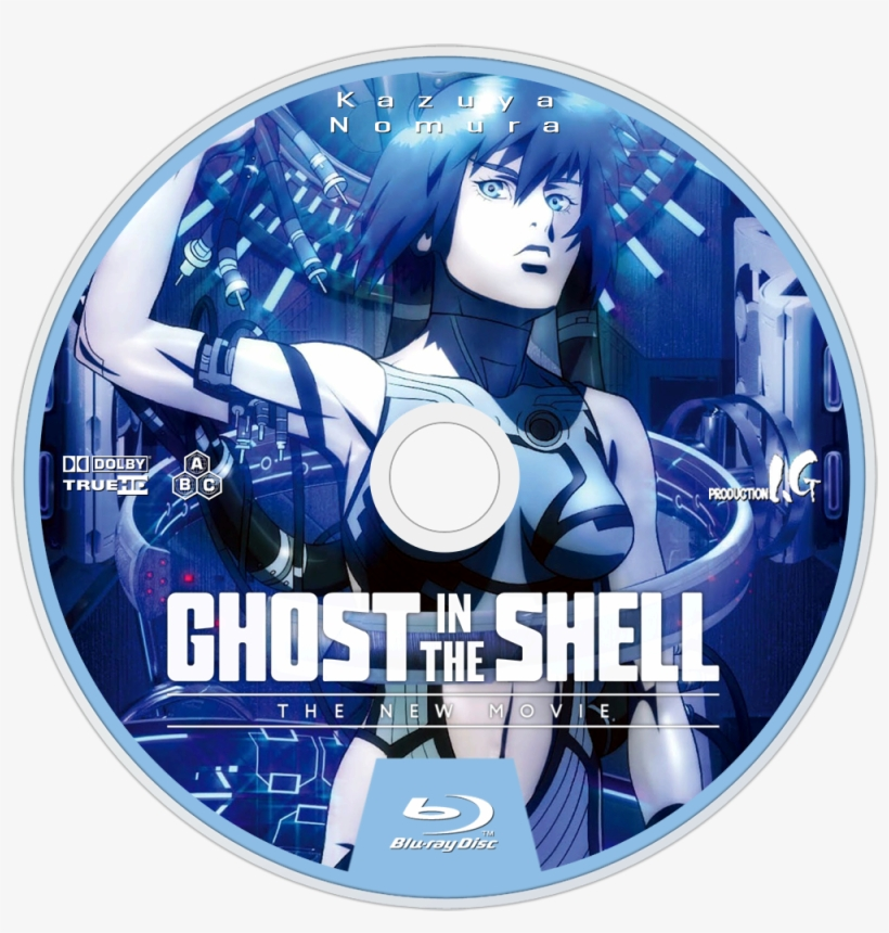 Ghost In The Shell New Movie Bluray Disc Image Ghost In The Shell The New Movie Cover 1000x1000 Png Download Pngkit