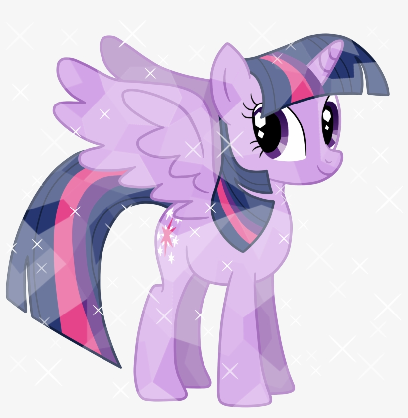 - Full Size Of Coloring - My Little Pony Twilight Sparkle Crystal - 3000x3000  PNG Download - PNGkit