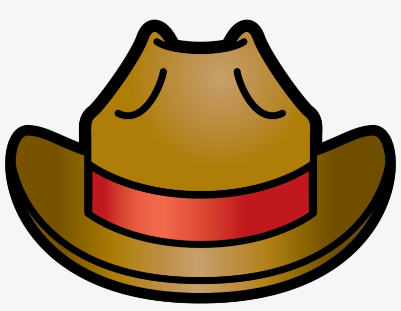 Wild West Clipart Big Hat - Silly Hats Clip Art - 1558x1133 PNG ... d6f65b05304