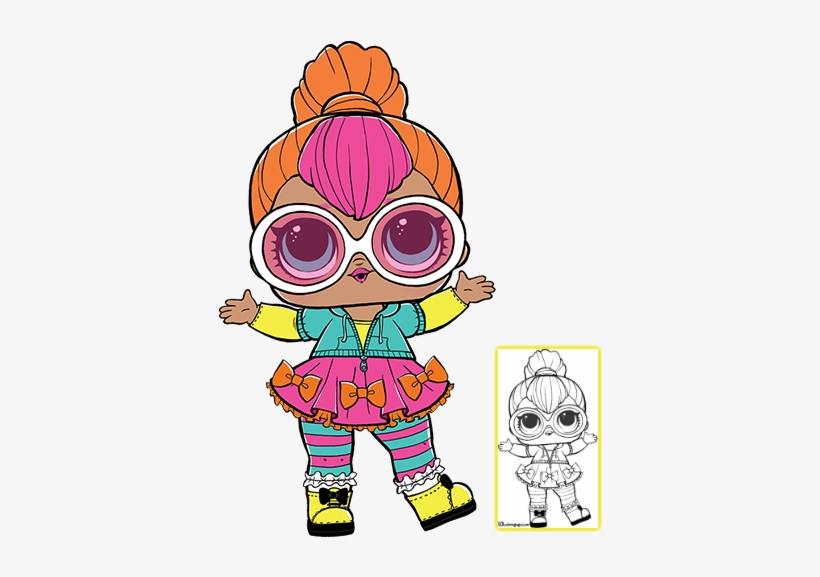 picture about Lol Doll Printable identify Click on In the direction of Down load Coloring Sheet Lol Dolls, Doll Occasion