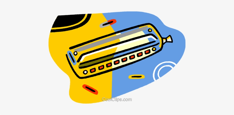 Harmonica Royalty Free Vector Clip Art Illustration Harmonica 480x324 Png Download Pngkit