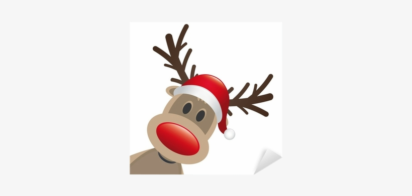 Renne Babbo Natale.Renne Babbo Natale Rudolph 400x400 Png Download Pngkit