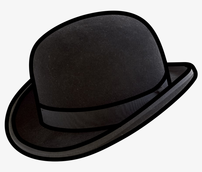 9d1248c631e8c Bowler Hat - Bowler Hat Vector - 800x800 PNG Download - PNGkit