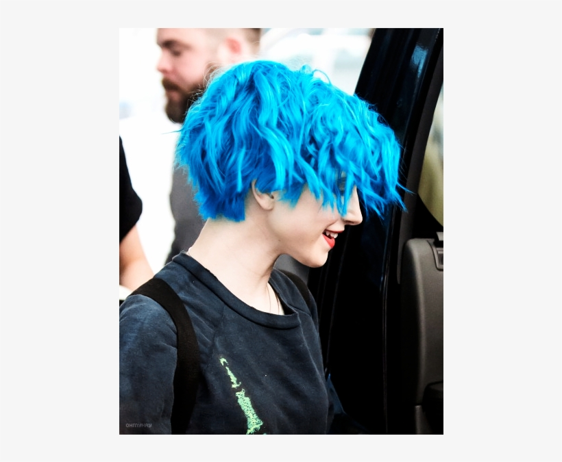 Hayley Williams Short Blue Hair 500x665 Png Download Pngkit