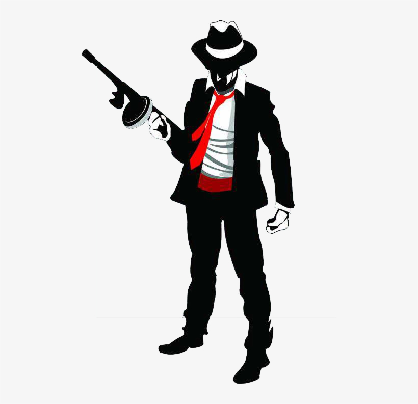 Kartun Mafia 500x713 Png Download Pngkit