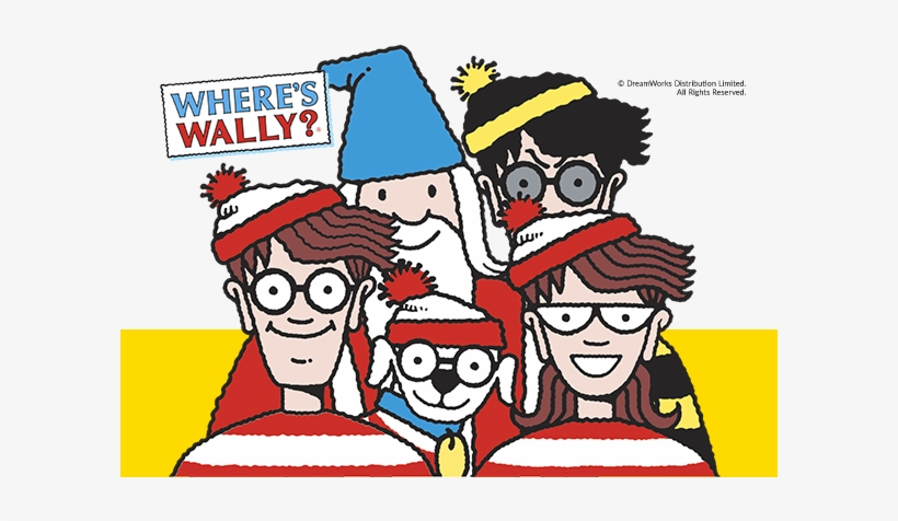 Wally And His Friends - Where's Wally Stickers - 600x424 PNG ...