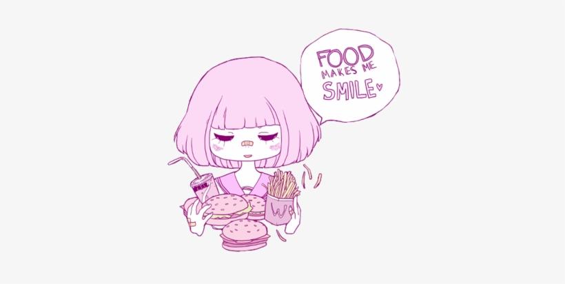Anime Pastel Goth Buscar Anime Pink Tumblr Transparent 500x375
