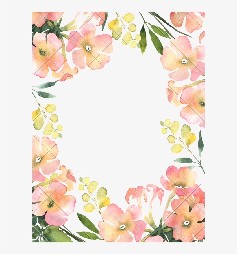Flowers Background Png Flower Background Invitation Free