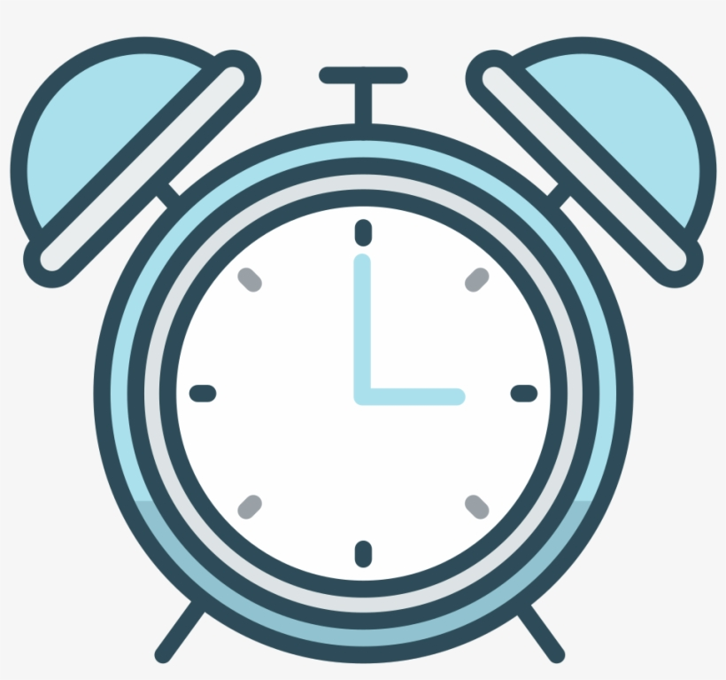 Download Svg Download Png - Alarm Clock Icon Png - 1024x1024