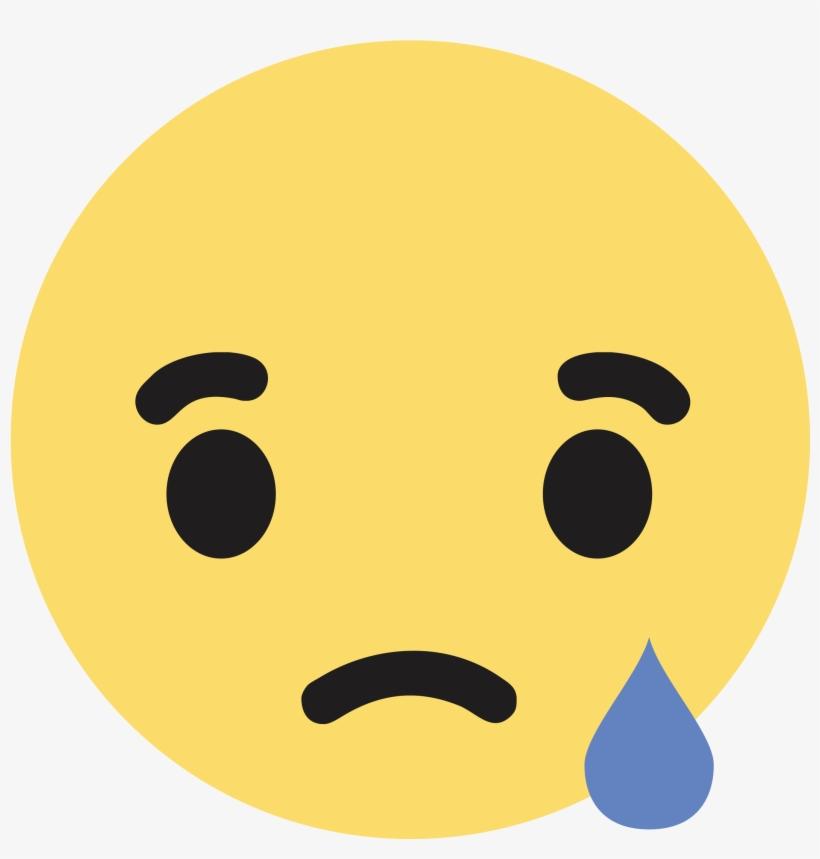 Transparent Images Pluspng - Facebook Sad React Png