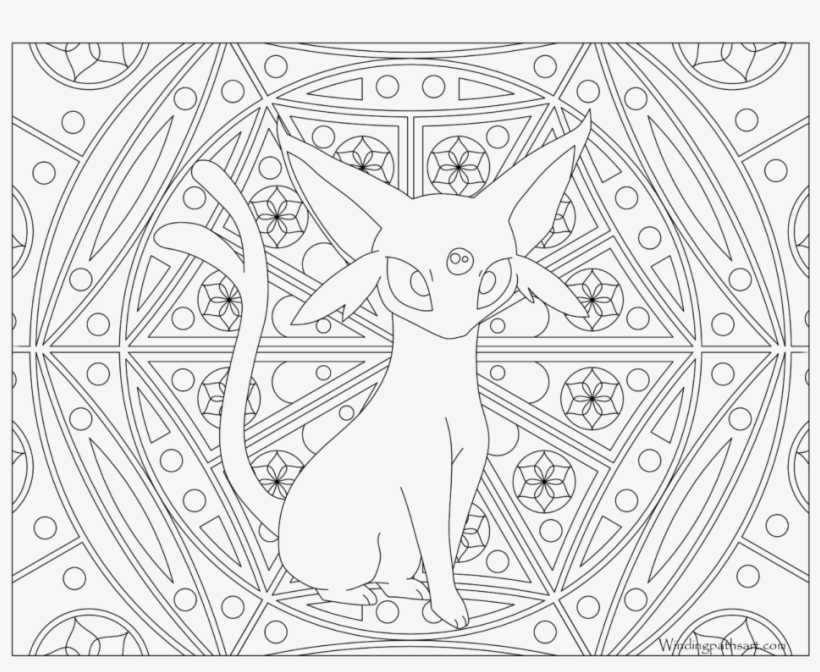 Pokemon Umbreon Coloring Pages - GetColoringPages.com | 672x820