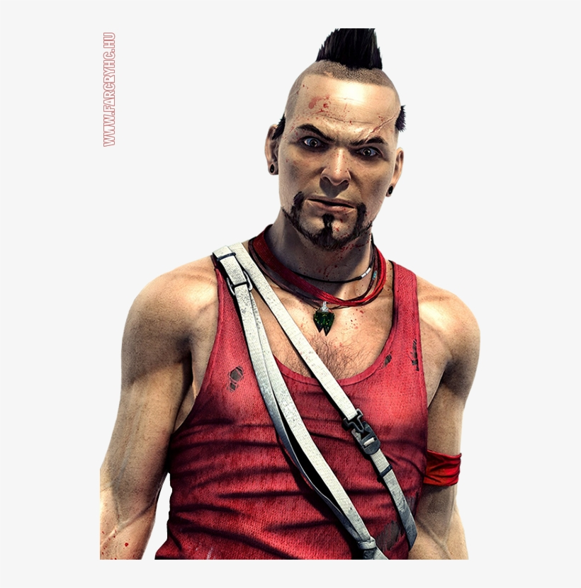 Far Cry Png File Far Cry 3 Vaas Concept Art 537x750 Png Download Pngkit